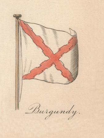 'Burgundy', 1838-Unknown-Framed Giclee Print