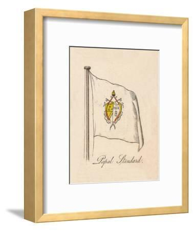 'Papal Standard', 1838-Unknown-Framed Giclee Print