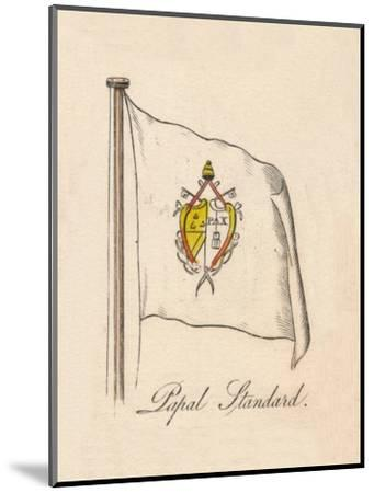 'Papal Standard', 1838-Unknown-Mounted Giclee Print