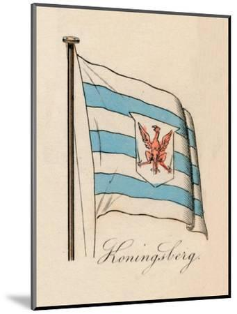 'Koningsberg', 1838-Unknown-Mounted Giclee Print