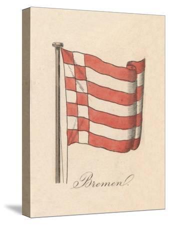 'Bremen', 1838-Unknown-Stretched Canvas Print