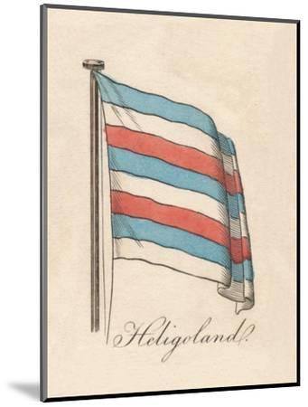 'Heligoland', 1838-Unknown-Mounted Giclee Print