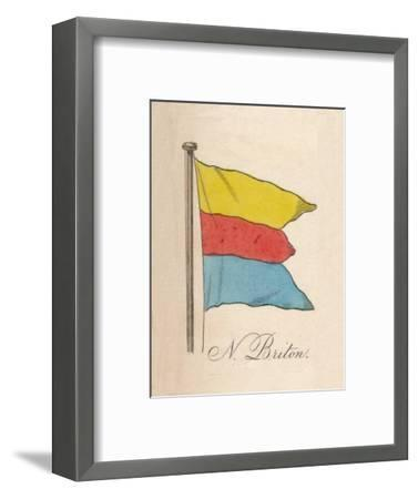 'N. Briton', 1838-Unknown-Framed Giclee Print