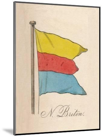 'N. Briton', 1838-Unknown-Mounted Giclee Print