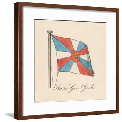 'States General Jack', 1838-Unknown-Framed Giclee Print