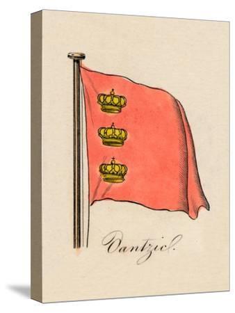 'Dantzic', 1838-Unknown-Stretched Canvas Print