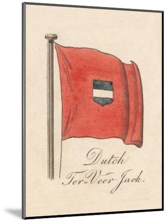 'Dutch Ter-Veer Jack', 1838-Unknown-Mounted Giclee Print