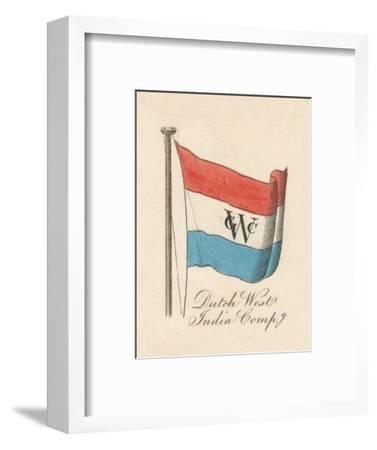 Dutch West India Company', 1838-Unknown-Framed Giclee Print