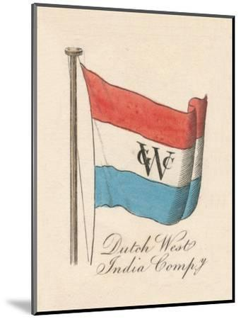 Dutch West India Company', 1838-Unknown-Mounted Giclee Print