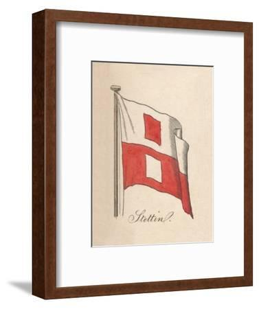 'Stettin', 1838-Unknown-Framed Giclee Print