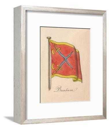 'Bantam', 1838-Unknown-Framed Giclee Print