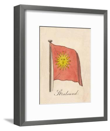 'Stralsund', 1838-Unknown-Framed Giclee Print