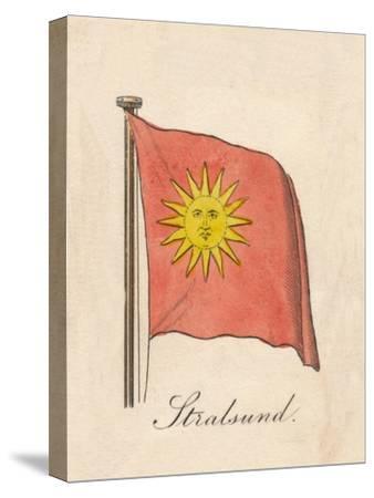 'Stralsund', 1838-Unknown-Stretched Canvas Print
