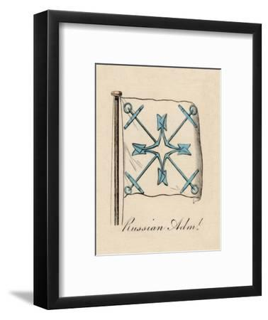 'Russian Admiral', 1838-Unknown-Framed Giclee Print