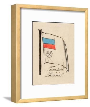 'Transport Russia', 1838-Unknown-Framed Giclee Print