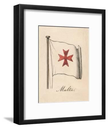 'Malta', 1838-Unknown-Framed Giclee Print