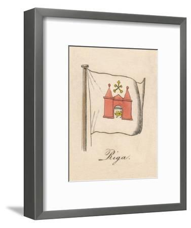 'Riga', 1838-Unknown-Framed Giclee Print