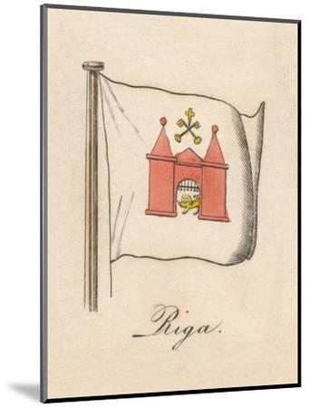 'Riga', 1838-Unknown-Mounted Giclee Print