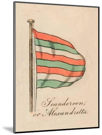 'Scanderoon, or Alexandretta', 1838-Unknown-Mounted Giclee Print