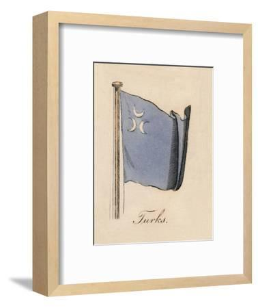 'Turks', 1838-Unknown-Framed Giclee Print
