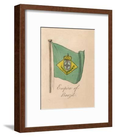 'Empire of Brazil', 1838-Unknown-Framed Giclee Print