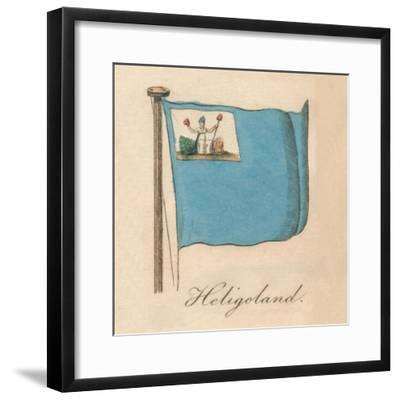 'Heligoland', 1838-Unknown-Framed Giclee Print