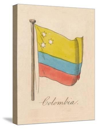 'Columbia', 1838-Unknown-Stretched Canvas Print