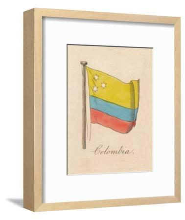 'Columbia', 1838-Unknown-Framed Giclee Print