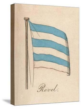 'Revel', 1838-Unknown-Stretched Canvas Print