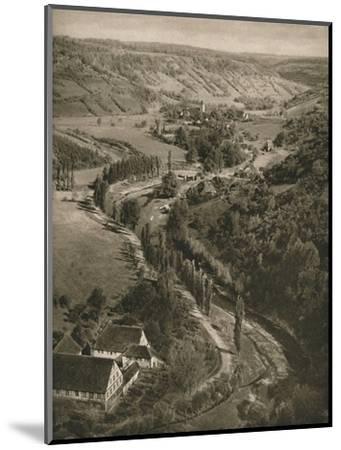 'Rothenburg o. d. T. - Taubertal', 1931-Kurt Hielscher-Mounted Photographic Print