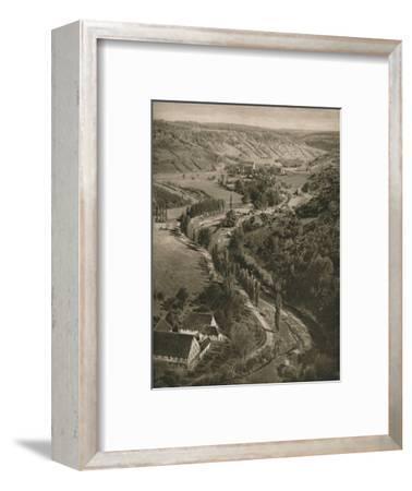'Rothenburg o. d. T. - Taubertal', 1931-Kurt Hielscher-Framed Photographic Print