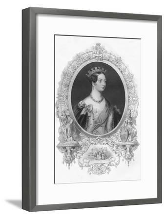 'Victoria', 1859-Unknown-Framed Giclee Print
