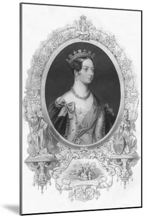 'Victoria', 1859-Unknown-Mounted Giclee Print
