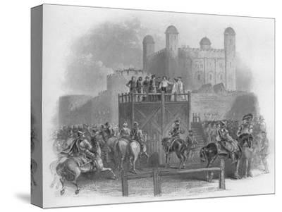 'The Execution of Dudley Earl of Leicester', 1859-Unknown-Stretched Canvas Print