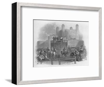 'The Execution of Dudley Earl of Leicester', 1859-Unknown-Framed Giclee Print