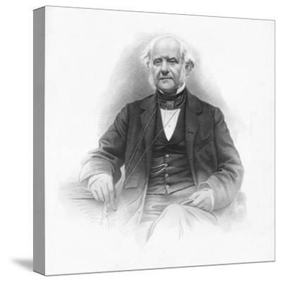 'George Peabody', 1859-Unknown-Stretched Canvas Print