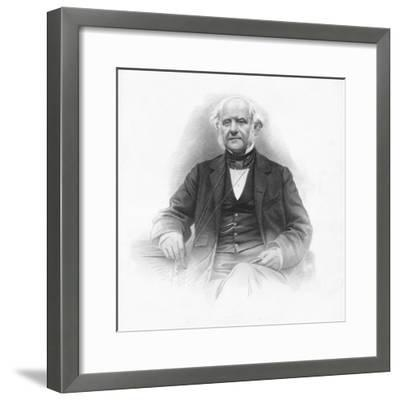 'George Peabody', 1859-Unknown-Framed Giclee Print