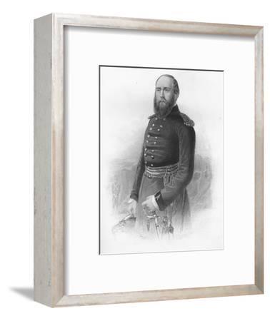 'H.R.H. The Duke fo Cambridge, K.G. &c.', 1859-Unknown-Framed Giclee Print
