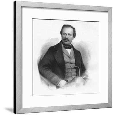 'General Sir James Outram, G.C.B.', 1859-Unknown-Framed Giclee Print