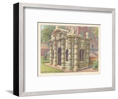 'Water-Gate, York House', 1929-Unknown-Framed Giclee Print