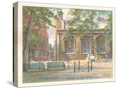 'Chapel of St. Peter, Tower Green', 1929-Unknown-Stretched Canvas Print