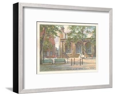 'Chapel of St. Peter, Tower Green', 1929-Unknown-Framed Giclee Print