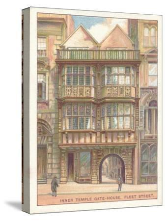 'Inner Temple Gate-House, Fleet Street', 1929-Unknown-Stretched Canvas Print