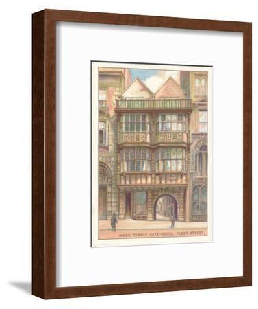 'Inner Temple Gate-House, Fleet Street', 1929-Unknown-Framed Giclee Print