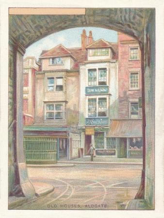 'Old Houses, Aldgate', 1929-Unknown-Framed Giclee Print