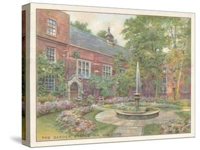'The Garden, Staple Inn, Holborn', 1929-Unknown-Stretched Canvas Print
