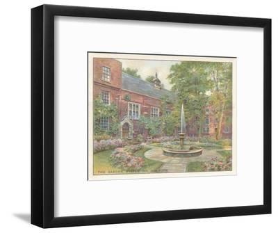 'The Garden, Staple Inn, Holborn', 1929-Unknown-Framed Giclee Print