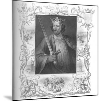 'Edward I', 1859-Unknown-Mounted Giclee Print