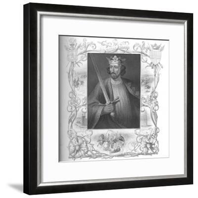 'Edward I', 1859-Unknown-Framed Giclee Print
