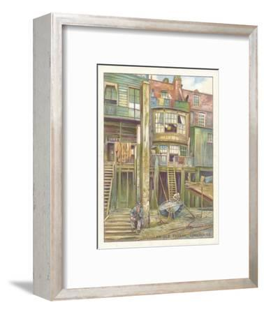 'An Old Tavern, Limehouse', 1929-Unknown-Framed Giclee Print